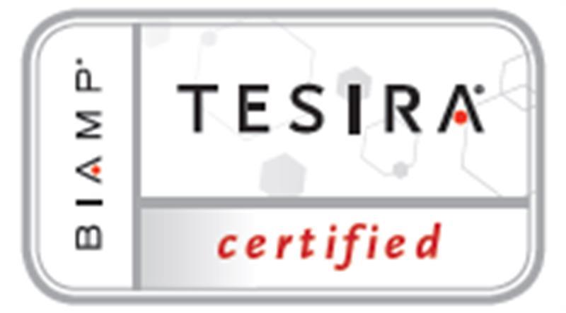 tesira certified