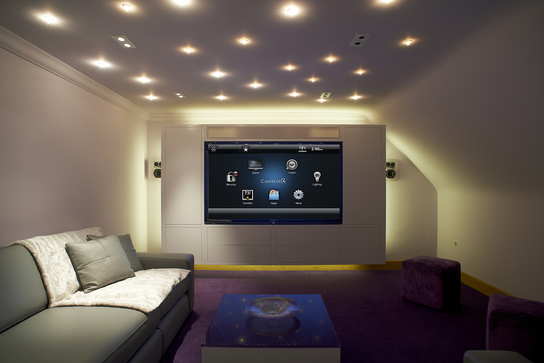 smart home systems for home entertainment