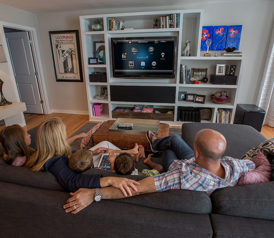 automated home entertainment systems