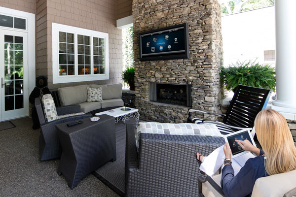Outdoor automated systems for home