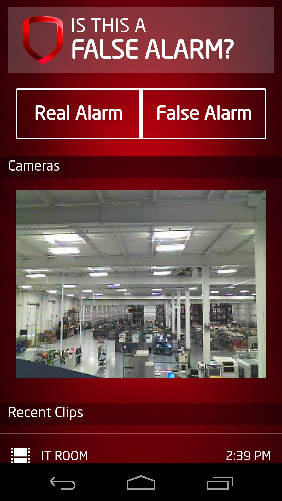 Commercial video surveillance systems from Symspire, Nashville, TN